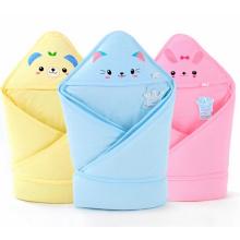 Lovely Design 100% algodón Super Soft Impreso Baby Swaddle