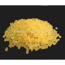 Adesivo viscoso a quente de alta viscosidade com granulado amarelo