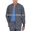 Hospital medical working clothes uniform coat for men