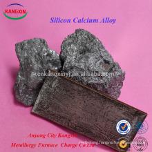 SGS certificate Silicon Calcium Alloy/casi/sica/pure Calcium Silicon