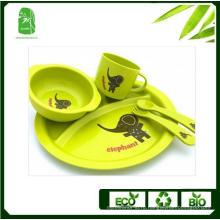 Высокое качество Bamboo Fiber детей посуда (BC-BB-SU2001)