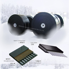 Industrial Cold Resistant Steel Cord Rubber Conveyor Belt with Low Price