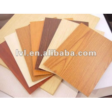 2~5mm melamine mdf board for furniture/decoration usage