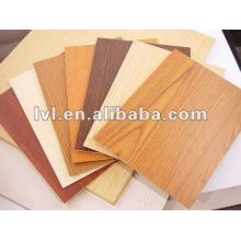 Placa do mdf da melamina de 2 ~ 5mm para o uso da mobília / decoração