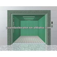 Salle de machines Yuanda / ascenseur de fret sans chambre