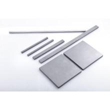 Plaque et rayure de carbure de tungstène