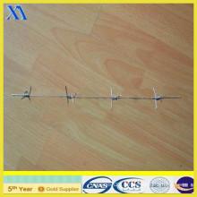Fil barbelé à simple brin galvanisé (XA-BW014)