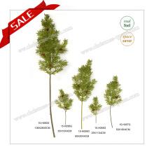 Venta al por mayor de China Regalos Artificiales ramas de árboles de pino y hojas