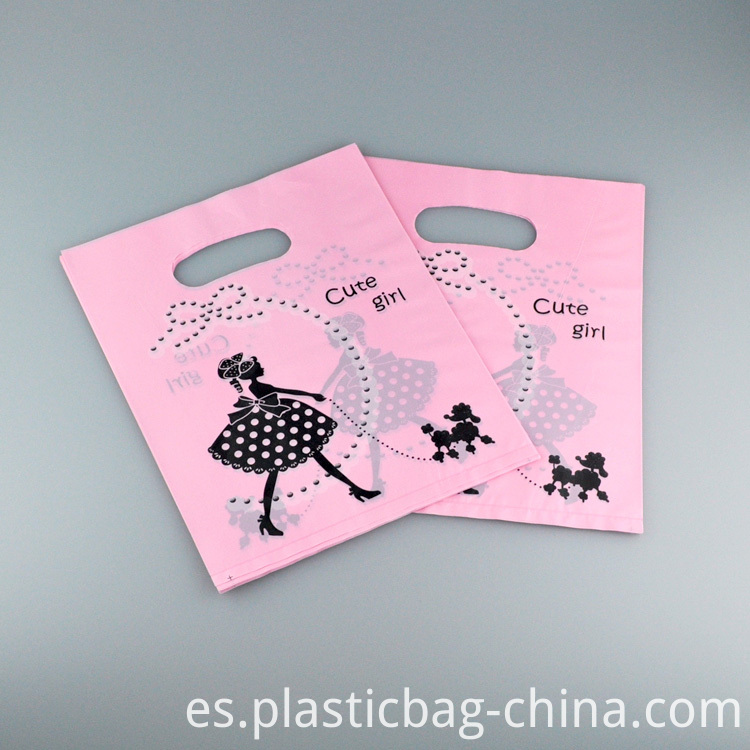 20x25cm-Girl-Print-Pink-Plastic-Bag-100pcs-Jewelry-Boutqiue-Gift-Packaging-Bag-Favour-Plastic-Shopping-Bags