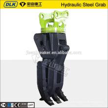 Agarrador giratorio hidráulico del acero de chatarra del fabricante de China para el excavador PC240 PC220
