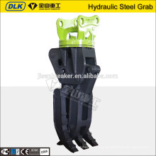 China manufacturer Hydraulic Rotating Scrap Steel Grab For PC240 PC220 Excavator