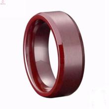 Últimas Alumina Cerâmica Ring Jewelry Set Design Para Mulheres