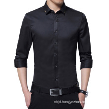 Men Fashion Long Sleeve Shirts New High Quality Shirt Casual Slim Fit Shirt
