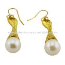 Gold jewelry fashion drop earrings