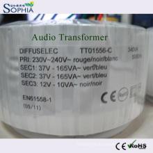 340va transformador de potência, transformador de áudio, transformador de toróide, transformador magnético