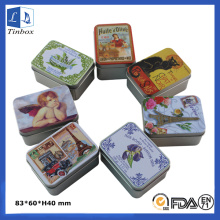 Personalised Christmas Empty Tin Gifts