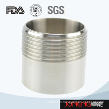 Stainless Steel Sanitary Pipe Fitting Threading Nipple (JN-UN2019)