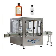 Easy operate linear CE standard plastic bottle liquid automatic mouthwash filling machine
