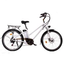 Pedelecs plegable E Bike Fold bicicleta eléctrica del motor trasero de 26 pulgadas 250W con Pas