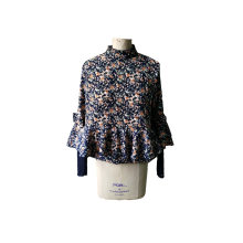 Fashion Latest Spring Fresh Floral Ladies Jacket