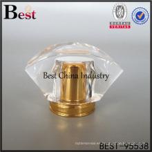 casquillo claro del perfume del casquillo de flor para la muestra libre del perfume hecha en China