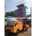 Antena de 10m JMC camiones de plataforma de trabajo