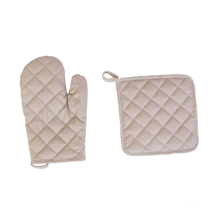 Pot Holder Apron And Oven Mitt Set