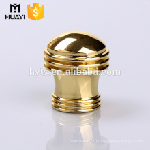 popular golden zamac metal lid