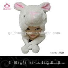 Кролик зимний шлем для ушей