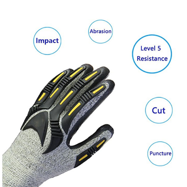 Anti Impact Abraision Gloves