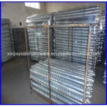 ISO 630 Fe 360A Standard Ancres à vis de terre naturelle avec bride