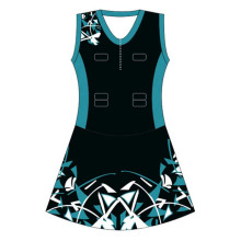 Custom Dye Sublimated Netball Jersey