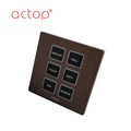 High quality wall switch for hotel