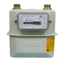 Outdoor Integrated Installation Domestic Diaphragm Gas Meter