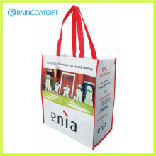Reusable Eco-Friendly Promotional Laminated PP Woven Shopping Bag