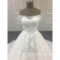 Latest Bridal A Line Wholesale Off Shoulder Design Wedding Dresses
