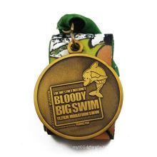 Custom 3D Souvenir Challenge Awarded Medal (GZHY-JNB-008)