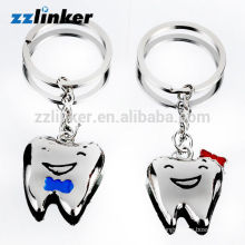 OEM Free Couple Teeth Key Chain Craft