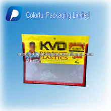 Heißer Verkauf / Portable Bequem Turnier Series Ziplock Angeln weichen Kunststoff Köder Tasche mit Hang Loch & Attrative Printing & Fenster