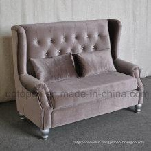 Elegant Sofa Booth with Upgrade Velvet for Banquet (SP-KS301)