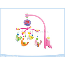 Electric Musical Baby Mobiles with Plush Toys for Baby
