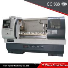 machine à grande vitesse de tour de commande numérique par ordinateur de grand diamètre CJK6150B-1 / 1000mm
