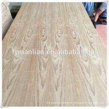folha da madeira compensada da teca / fábrica da madeira compensada / madeira compensada preço a mais baixa para a venda