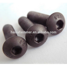 ISO7380 high strength steel hexagonal socket button head screw m8*30