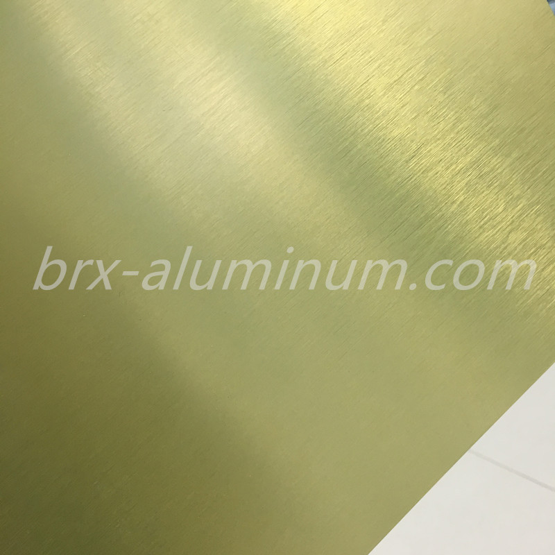 Colorized Anodized Aluminum sheet