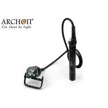 Lampe de plongée sous-marine à LED de plongée Lampe torche 100 m imperméable à l'eau