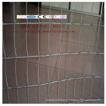 Clôture de champ / vente directe d'usine Clôture de terrain galvanisée / Clôture de terrain bon marché