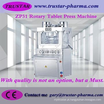 Máquina de prensagem de comprimidos rotativos para máquinas de açúcar e medicamentos