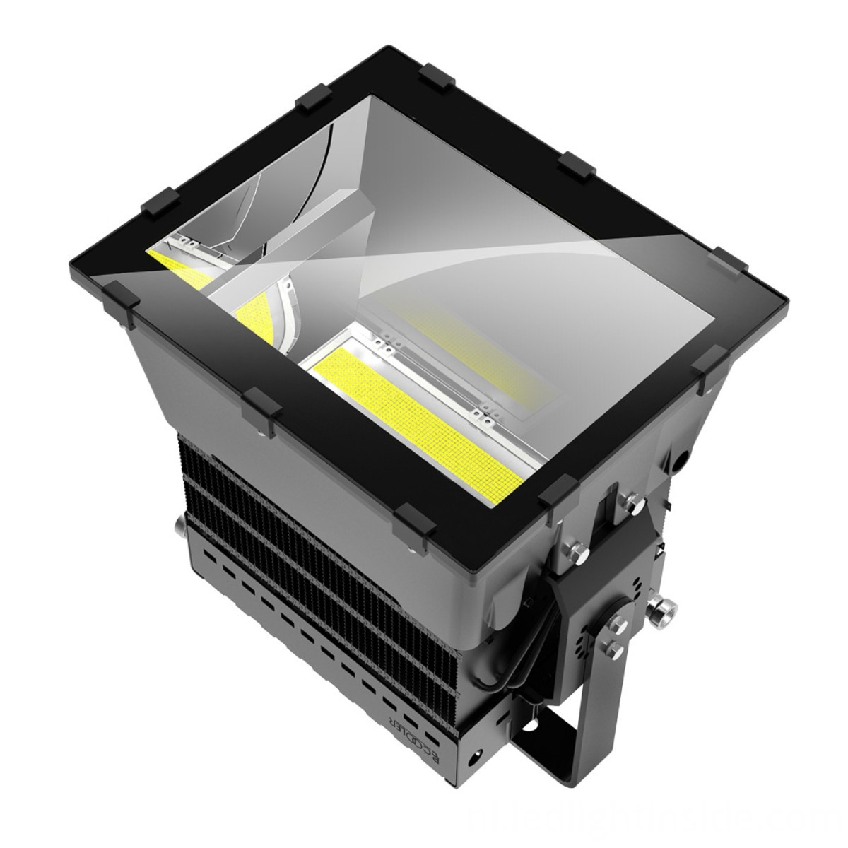 100000lm City Square LED Floodlight 1000w Outdoor LED Lamp Meanwell Driver Cree Chip (1)