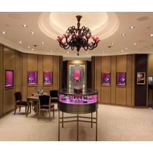 Elegante Ladengeschäft modischen Schmuck Displays Showcase